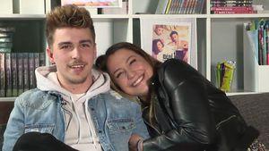 So happy: Das lieben BTN-Jenefer & ihr Matthias aneinander!