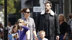Jennifer Garner und Ben Affleck mit ihren drei Kindern im Mai 2016