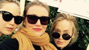 J.Law, Adele & Cameron Diaz: Sie kämpfen für Frauenrechte!
