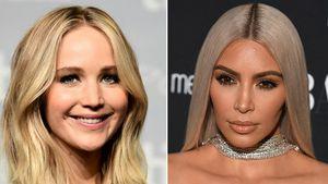 """""""Ich furze nicht"""": J.Law interviewt Kim Kardashian im TV"""