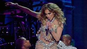 Jennifer Lopez in Las Vegas-Show