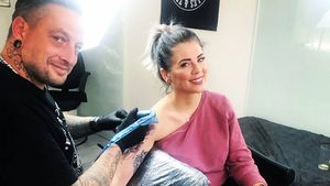Ganz schön groß: Jenny Frankhauser hat neues Tattoo!