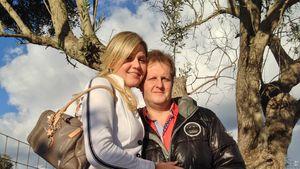 Jens Büchner und Jenny Matthias auf Mallorca