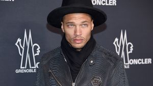 Jeremy Meeks bei der New York Fashion Week