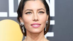 Uneitel! Jessica Biel zeigte bei Golden Globes grauen Ansatz