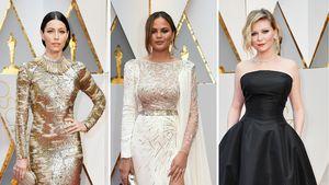 Jessica Biel, Chrissy Teigen und Kristen Dunst bei den Oscars 2017