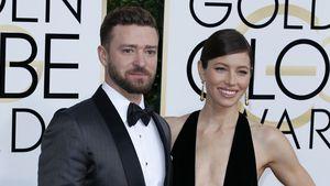 Jessica Biel und Justin Timberlake bei 74. Verleihung der Golden Globes