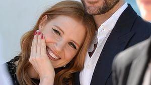 Jessica Chastain und Gian Luca Passi de Preposulo bei den 67. Filmfestspielen in Cannes