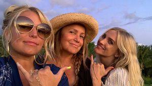 Jessica Simpson teilt rares Bild mit Ashlee und Mama Tina