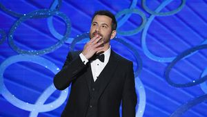 Jimmy Kimmel bei den Emmy Awards 2016 in Los Angeles