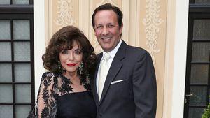 """Nach Brand bei Joan Collins: """"Mein Ehemann ist ein Held"""""""