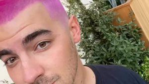 Jetzt auch Joe Jonas: Das hat's mit pinken Haaren auf sich