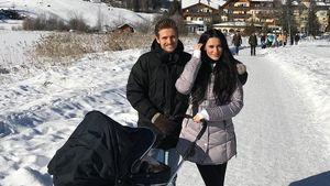 1. Urlaub mit Baby: Jörn & Hanna bringen Delia in den Schnee