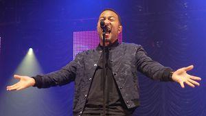 John Legend bei einem Konzert in Newcastle upon Tyne (England)