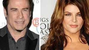 John Travolta und Kirstie Alley