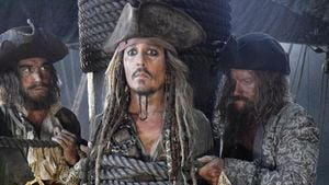 """Fluch der Karibik 5"": 1. Foto von Johnny Depp am Set!"