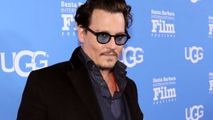 Johnny Depp beim Santa Barbara International Film Festival