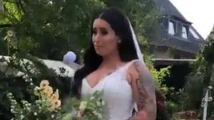 Megahappy: Jolina Mennen hat zum zweiten Mal geheiratet