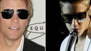 Justin Bieber und Jon Bon Jovi