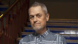 Jonathan Demme in Madrid, 2015