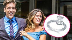 Jordan Rodgers und Joelle Fletcher mit ihrem Verlobungsring