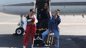 Nach Khloes Geburt: Kylie & Kourtney jetten zum Coachella!