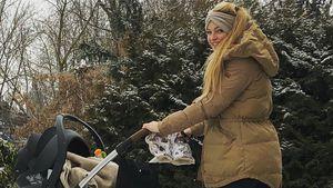 Mit Baby: Josephine Welsch & Robert wohnen jetzt in Anhänger