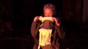 Ist das Baby schon da? Josephine Welsch mit Baby-Trage!