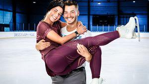 """Holiday on Ice"": Sarah Lombardi wieder mit Joti auf dem Eis"
