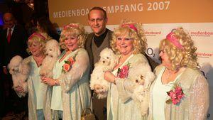 Jürgen Vogel und die Jacob Sisters bei der Berlinale 2007