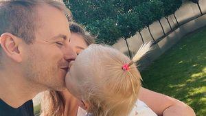 Wie süß! Julian Claßen postet Knutschbild mit Tochter Emily