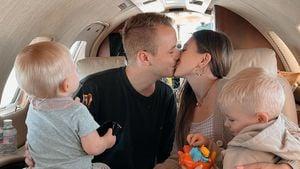Süßes Familienfoto: Bibi und Julian feiern Zwölfjähriges!