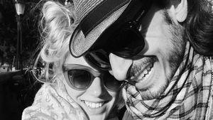 Juliette Greco mit ihrem Ehemann Salvatore Greco