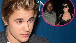 Justin Bieber, Kris Jenner und Corey Gamble
