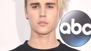 Justin Bieber guckt gequält