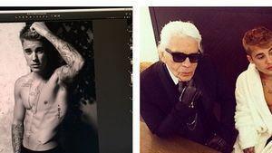 Oha! Was planen Justin Bieber & Karl Lagerfeld?