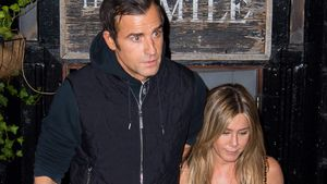Justin Theroux und Jennifer Aniston in New York