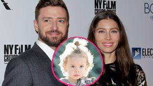 Justin Timberlake, Sohn Silas und Jessica Biel