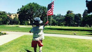 Silas Randall Timberlake feiert Unabhängigkeitstag