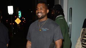 Ungewohnt happy! Was bringt Kanye West so zum Strahlen?