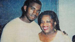 Kanye West und seine Mutter Donda West