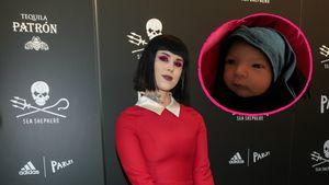 Süßer Fratz: Kat Von D zeigt zum 1. Mal Gesicht ihres Babys!
