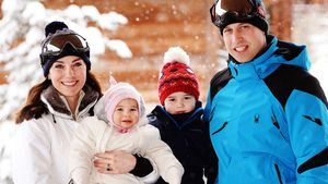 Kate Middleton & Prinz William mit Charlotte & George in Frankreich