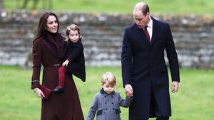 Kate Middleton und Prinz William mit den gemeinsamen Kindern