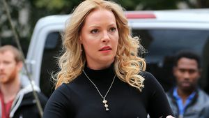 "Katherine Heigl am Set von ""Doubt"" in New York"