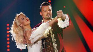 """Kathrin Menzinger und Heinrich Popow bei """"Let's Dance"""""""