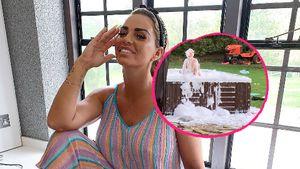 Kleine Frechdachse: Katie Price' Kids verwüsten Whirlpool