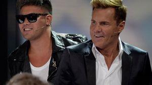 """Kay One und Dieter Bohlen bei """"30 Jahre RTL – Die große Jubiläumsshow mit Thomas Gottschalk"""" 2013"""