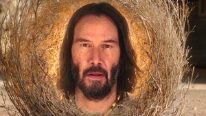 "Spirituelles Wesen: Keanu Reeves im neuen ""SpongeBob""-Film"