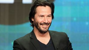 "Keanu Reeves feiert nach ""Matrix""-Dreh im Filmstudio Party"